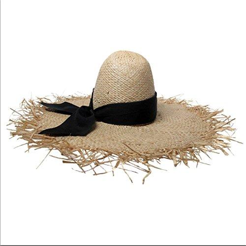 Gigiburris Millinery Wide Brim Raffia Hat by Gigiburris Millinery