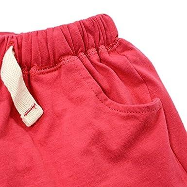 BINIDUCKLING Ragazzini 2 pezzi Set da spiaggia Camicia e pantaloni a maniche corte