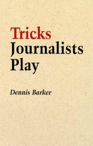 Read Online Tricks Journalists Play pdf epub