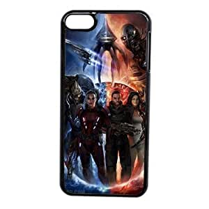 Custom made Case,Mass Effect Cell Phone Case for iPod touch 6,Black Case With Screen Protector (Tempered Glass) Free S-7256768