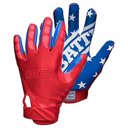 Battle All American Adult Football Gloves – DiZiSports Store