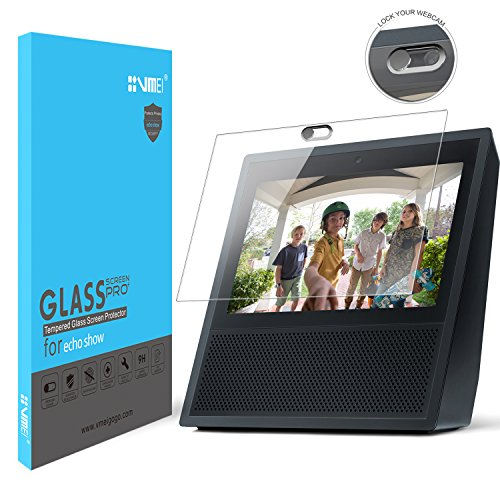Echo Show Screen Protector Webcam Cover Not only to protect Echo Show screen is more important to Protect everyone's privacy is safe.Designed by VMEI (Silver)