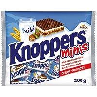 1x knoppers Minis en bolsa 200g dulces, alimentos