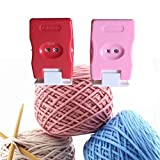 Reinly 2pcs Manual Counter Knitting Stitch Row