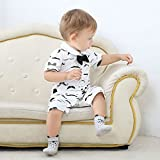 Unisex Baby Socks-Cute Infant Non-Slip Cotton Socks
