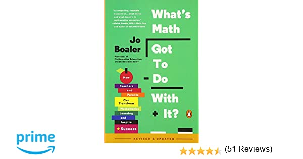 Math Worksheets fun middle school math worksheets : What's Math Got to Do with It?: How Teachers and Parents Can ...