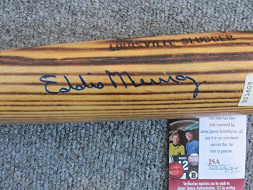 - Eddie Murray Autographed Signature Louisville Slugger Baseball Bat - JSA Authentication