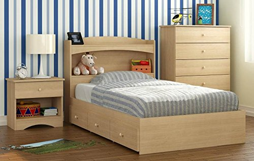 Nexera 3-Pc Eco-Friendly Kid's Twin Bedroom Set by Nexera