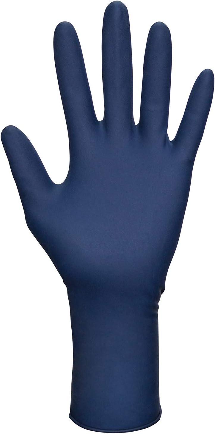 SAS Safety 6602-20 Thickster Powder-Free Exam Grade Gloves, Medium, 50-Pack