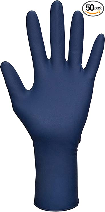 Sas Safety 6603 20 Thickster Powder Free Exam Grade Disposable Latex 14 Mil Gloves Large 50 Gloves Home Improvement Amazon Com