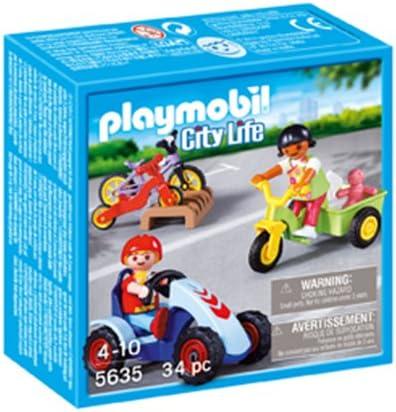 Playmobil - Playmobil 5635. Vehículos infantiles.: Amazon.es ...