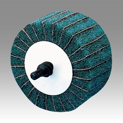 3M (CB-ZR) Combi-R Wheel 80800, 2-1/2 in x 1-1/4 in P180 X-weight [You are purchasing the Min order quantity which is 10 Wheels]