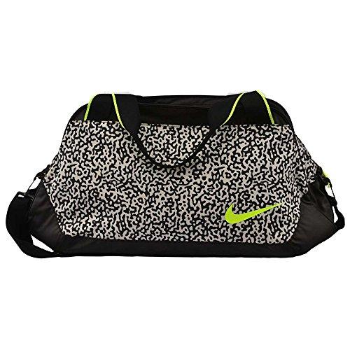Nike C72 Legend 2.0 Medium Duffel Bag Gym Club Yoga Tote BA4653-170 Black/White/Volt by NIKE