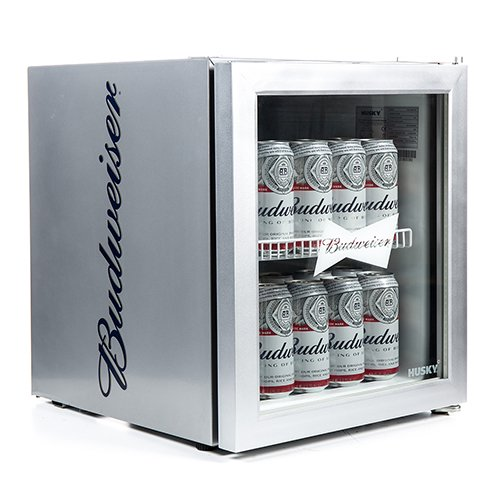 Husky HUS-HM72-HU Budweiser Drinks Cooler [Energy Class A+]