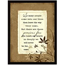 So Many People Wood Frame Plaque with Easel