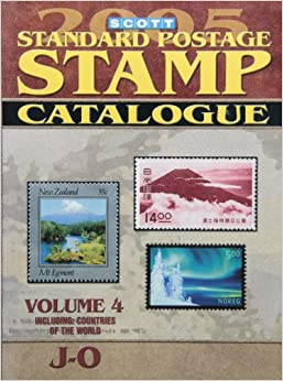 Scott Standard Postage Stamp Catalogue (Scott Standard Postage Stamp Catalogue: Vol.4: Countries J-O)