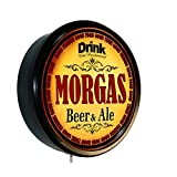 MORGAS Beer and Ale Cerveza Lighted Wall Sign