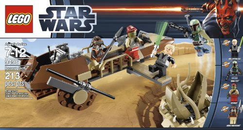 Luke Skywalker Jabbas Palace - LEGO Star Wars 9496 Desert Skiff (Discontinued by manufacturer)