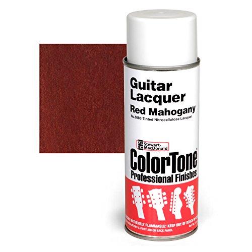 ColorTone Tinted Aerosol Guitar Lacquer, Red Mahogany