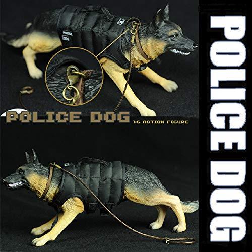 YEIBOBO ! 1:6 Action Figure Accessories German Shepherd Figure Toy (Police Dog)
