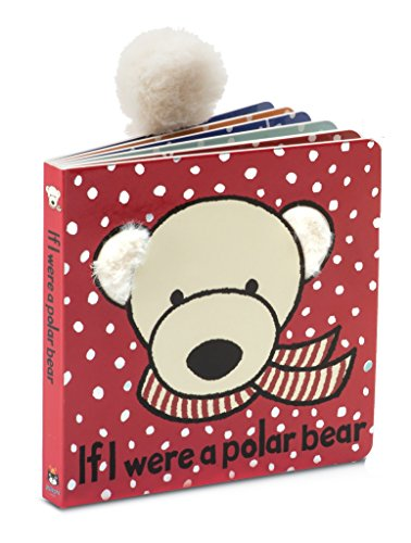 Jellycat Baby Touch and Feel Board Books, If I Were a Polar Bear