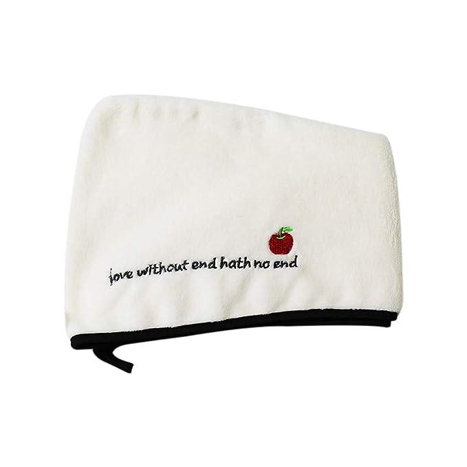 Toalla de pelo de secado rápido, toalla de baño de microfibra de ...