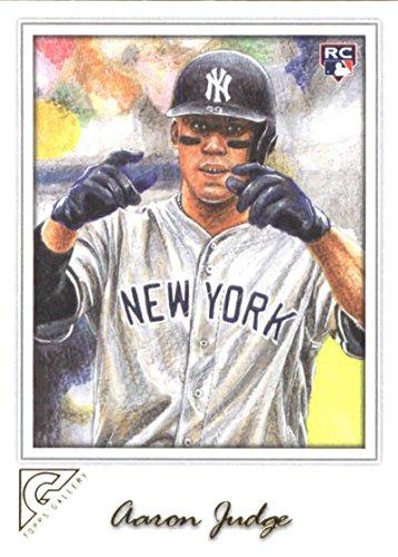 2017 Topps Gallery 117 Aaron Judge New York Yankees Rookie Baseball Card