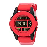 Nixon Men's A1971488-00 Unit Digital Display Japanese Automatic Red Watch