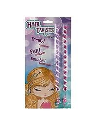 Hair Twists By Sparkle Tattoo - 2 Piece Polymer Twist in Hair Braids