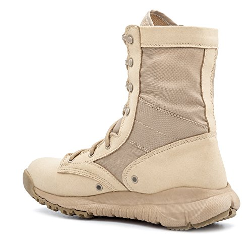 Pictures of IODSON US Mens' Ultra-Light Combat Boots Beige 9.5 M US 5