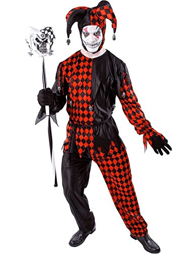 Sinister Circus Costumes (Evil Jester Halloween Costume)