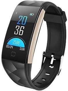 Longra*Longra Moda necesario movimiento T20 pantalla a color Bluetooth reloj inteligente monitor…