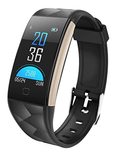 Longra*Longra Moda necesario movimiento T20 pantalla a color Bluetooth reloj inteligente monitor de ritmo