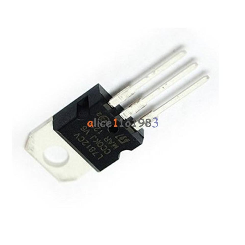 20Pcs L7812CV LM7812 L7812 TO-220 Voltage Regulator IC AL