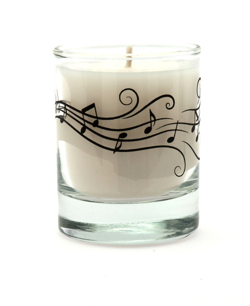 Music Treasures Co. Music Notes Votive Candle 410465