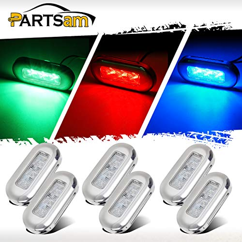 "Partsam 3"" Surface Mount Boat Marine LED Courtesy Lights for sale  Delivered anywhere in USA"