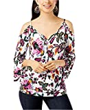 INC International Concepts Women's Cold-Shoulder Top