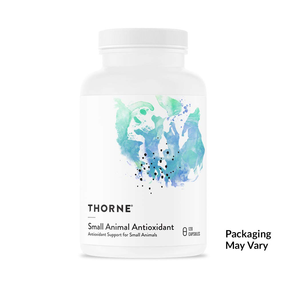 Thorne Research Veterinary - Small Animal Antioxidant - Antioxidant Support for Small Animals - 120 Capsules by Thorne Research