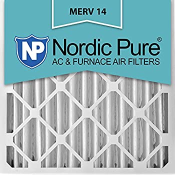 Nordic Pure 20x25x4 3 5 8 Actual Depth Merv 14 Plus