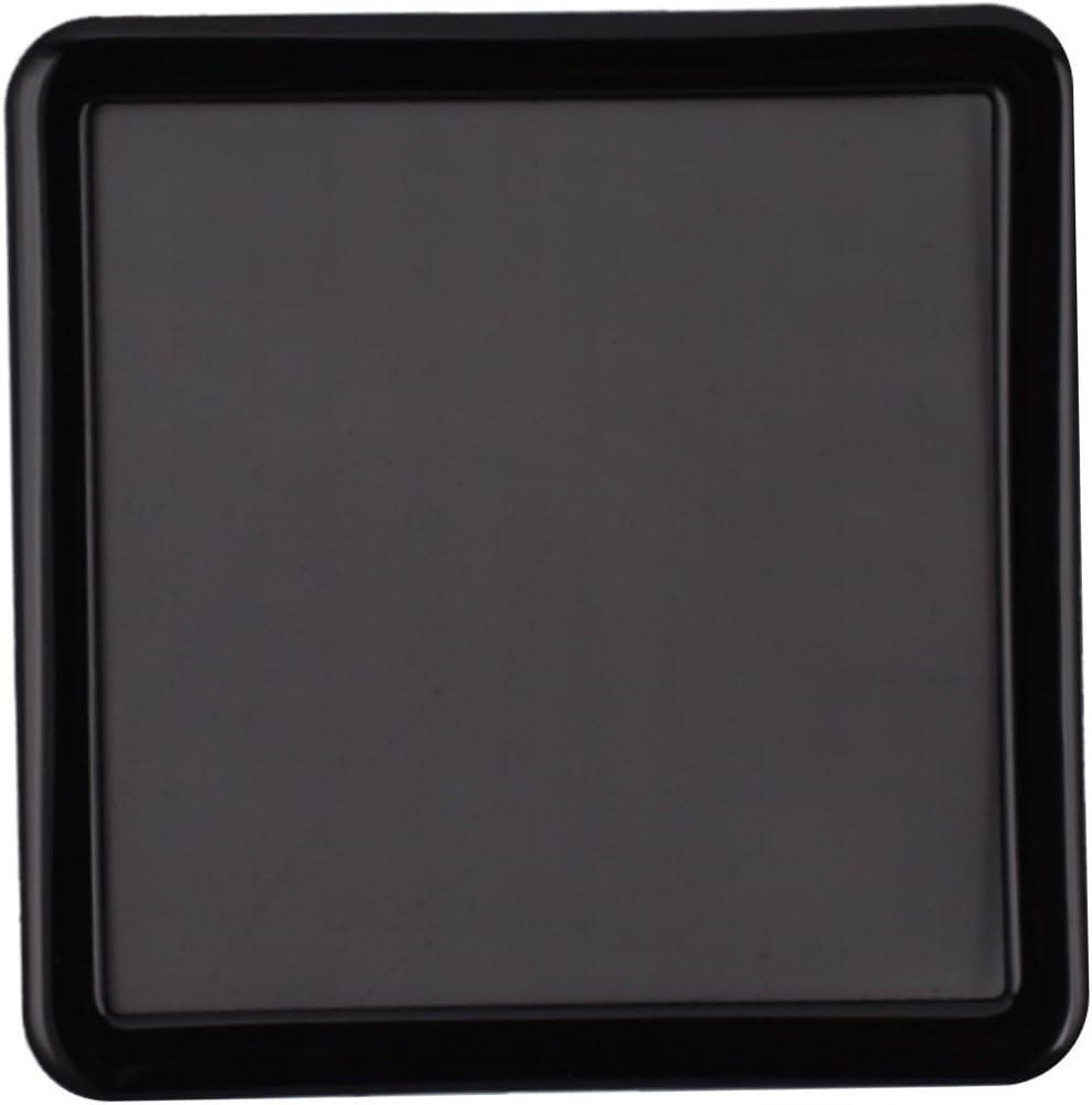 Rear 120mm Filter Black Frame//Black Mesh DEMCiflex Dust Filter for Caselabs Bullet BH8