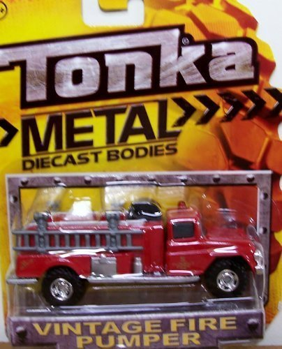 tonka fire truck vintage - 1
