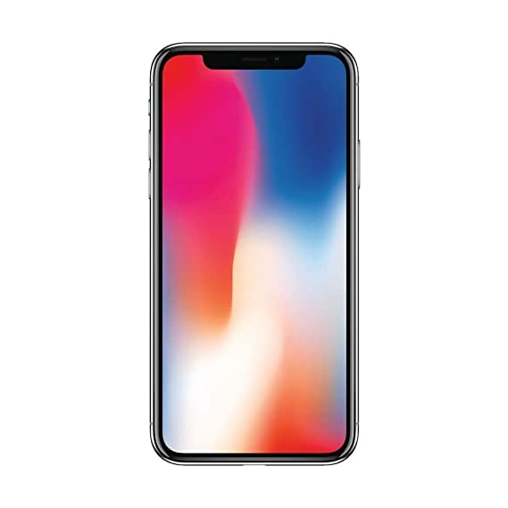 uk availability e0544 cb0f6 Apple iPhone X 64GB - Space Gray - Sprint (Renewed)