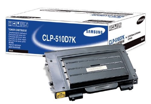 Samsung CLP-510D7K/SEE Black Toner 7K High Yield (CLP-510, CLP-510N) (510n Printers High Yield)