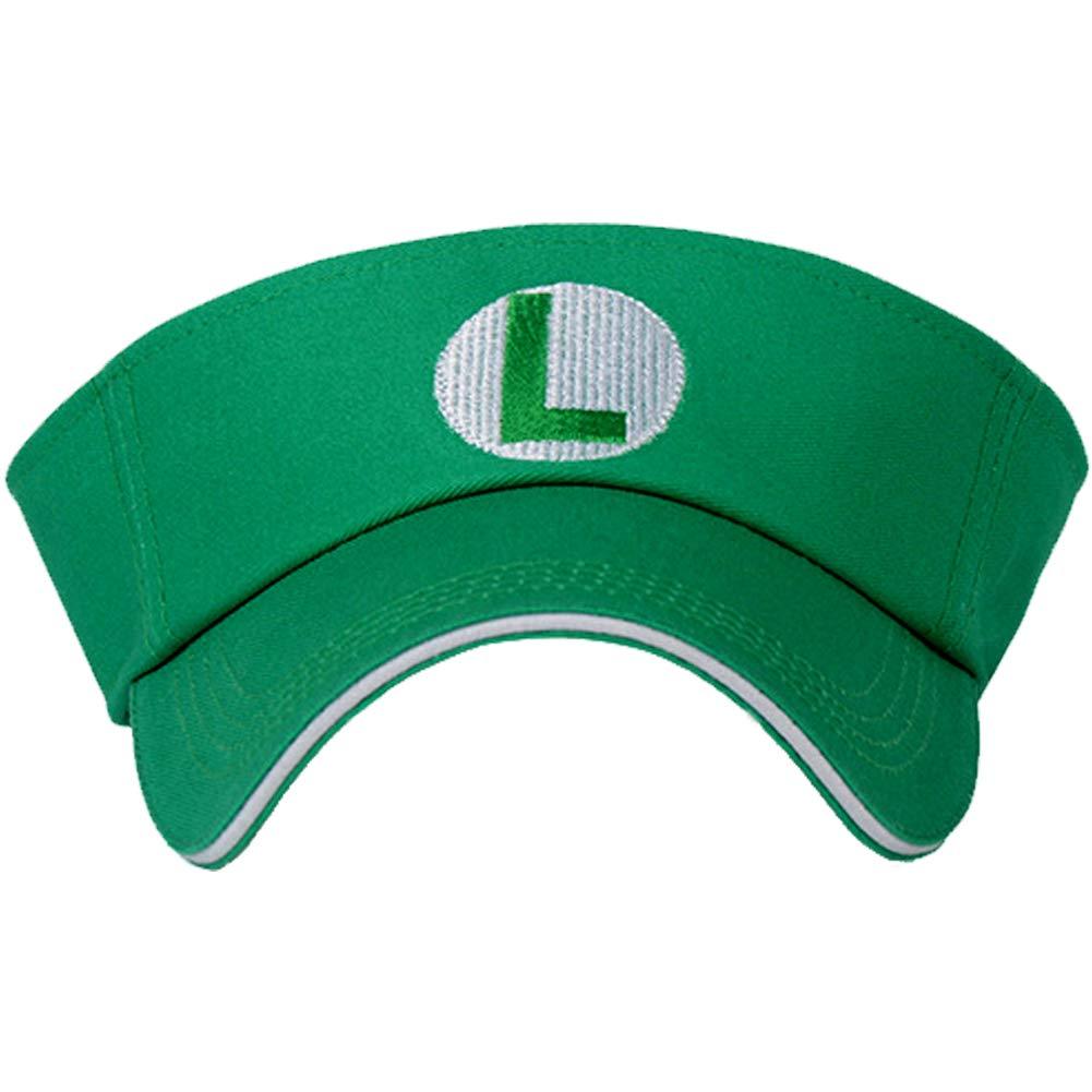 Gorra de béisbol Unisex de Super Mario Bros de Update V3 - Verde ...