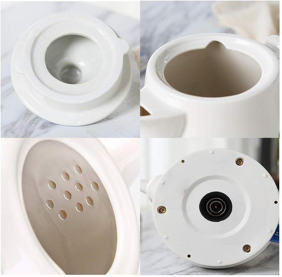 HL-TD-Bollitori Cordless Ceramica Tea Pot |Bollitore Elettrico |1,2 Litri |Spegnimento Automatico E Bollire-Dry Protezione |1200W Riscaldamento (Color : Pink) Pink