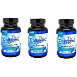 Neocell Collagen Type 2 Immucell Complete Joint Support Capsules, 2400 Mg, 120 Count (360 caps)