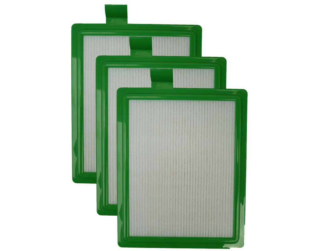 EnviroCare replacement HEPA Vacuum Filter for Eureka HF-1 Canisters 3 Filters