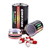 arizona cream soda - Battery Diversion Safes Can Stash by MS.CLEO, 2pcs Hide Cash Jewelry Large Hidden Container (M and L, 2 Batteries)