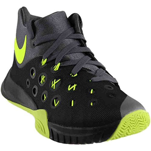 NIKE Zoom Hyperquickness 2015 Black/Volt/Dark Grey