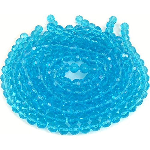 (Turquoise Round FP Chinese Crystal Bead 10mm 10 12